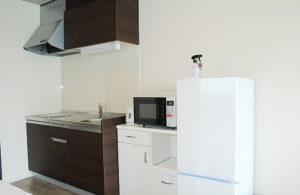 お部屋内のキッチン、設備品